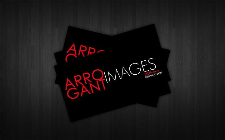 Logos branding arrogant images for Business cards for t shirt business