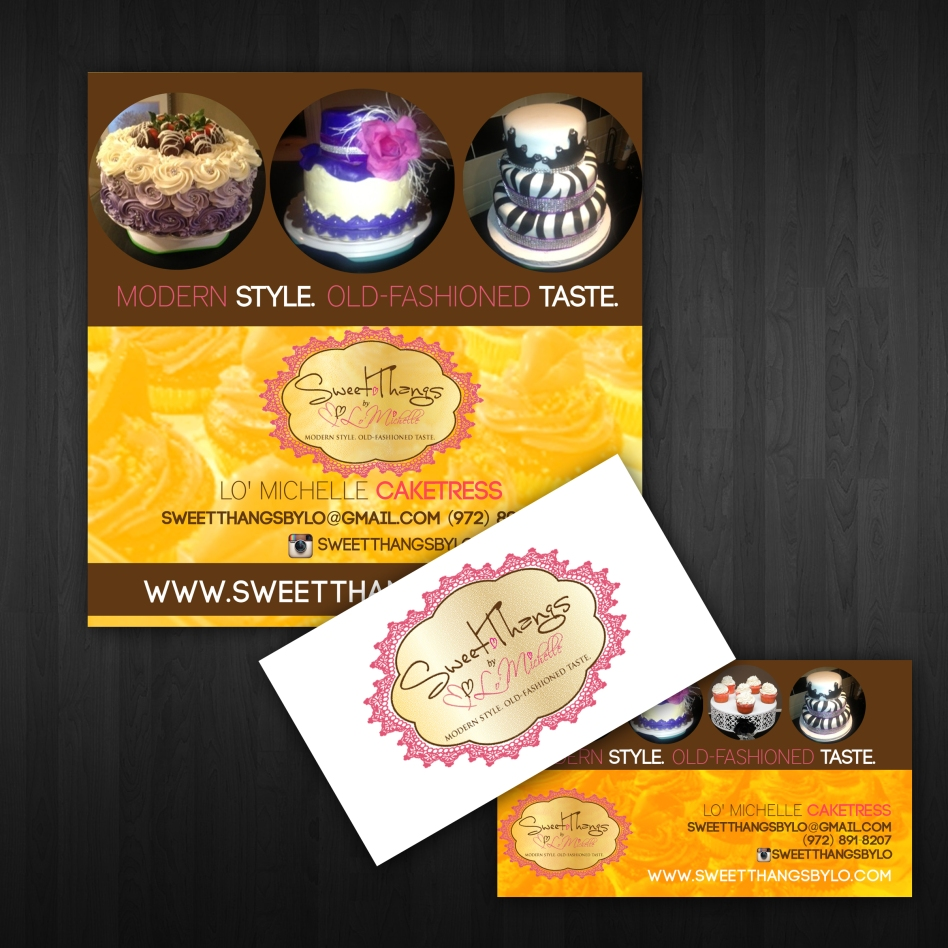 Sweet Thangs Promotional & Business Cards | Arrogant Images